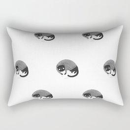 Night cat Rectangular Pillow