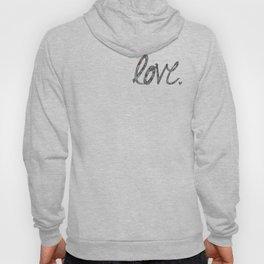 Love Zentangle  Hoody