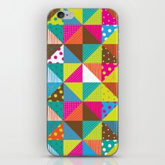 Crazy Squares iPhone & iPod Skin