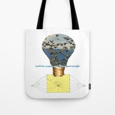Ideas Come, Ideas Go Tote Bag