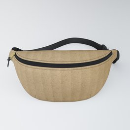 Cardboard texture Fanny Pack