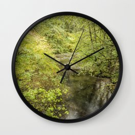 North Fork Silver Creek Wall Clock