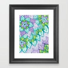 Sharpie Doodle 6 Framed Art Print
