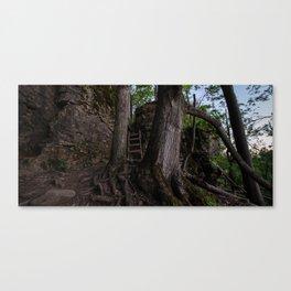 HDR Sunrise Canvas Print