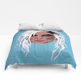 Blondie ~ Debbie Harry, Lady of the eighties! Comforters