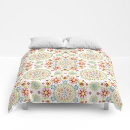 Flower Crown Carnival Comforters