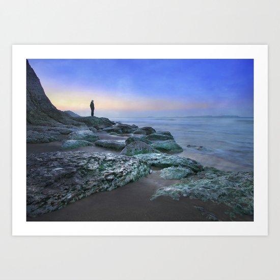 """""""Evening view"""" Art Print"""