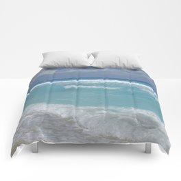 Carribean sea 3 Comforters