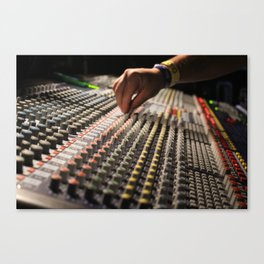 Festival Soundboard Photo Canvas Print