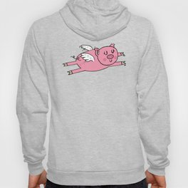 Flying pig Hoody