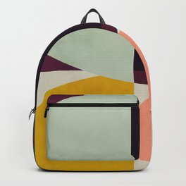 shapes abstract Backpack