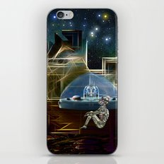 Do aliens get lonely as the lights begin to fade? iPhone & iPod Skin