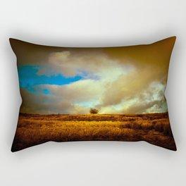 English landscape with lone tree, UK Rectangular Pillow