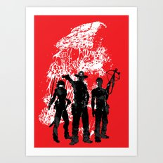 Waiting For The Dead Art Print