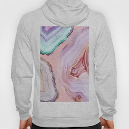Mineral Agates #Glam collection Hoody