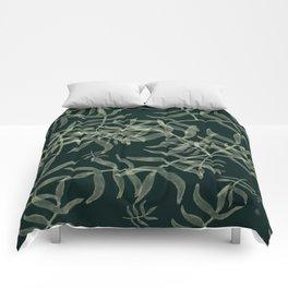 Botanical pattern Comforters