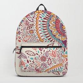 Sunflower Mandala Backpack