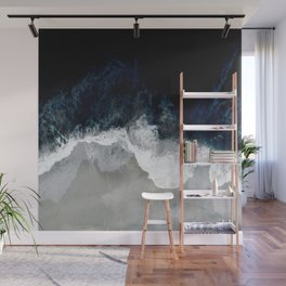 Blue Sea Wall Mural