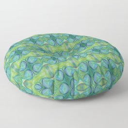 The Birth of Earth  Floor Pillow