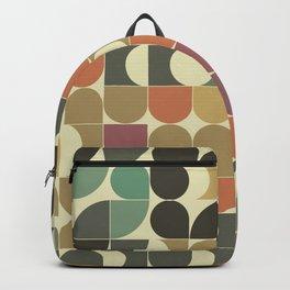Abstract Geometric Artwork 07 Backpack