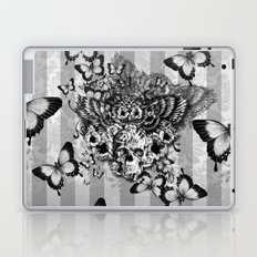 Lost and Found, floral owl with sugar skull Laptop & iPad Skin