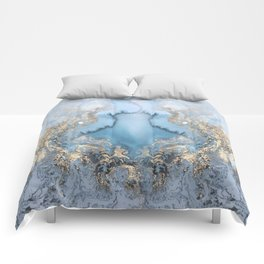 GOLD CLOUDS MARBLE Comforters