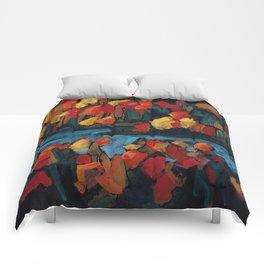 Autumn Foliage / Dennis Weber of ShreddyStudio Comforters