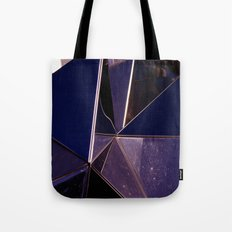 Abstract Glass Pattern Tote Bag