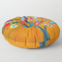 Surreal tree Floor Pillow