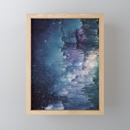Iced Galaxy Framed Mini Art Print