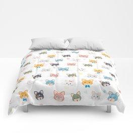 Cat passion Comforters
