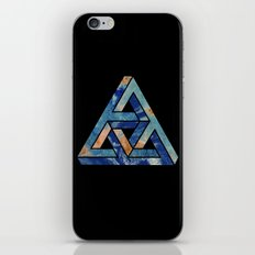 impossible triangle iPhone & iPod Skin