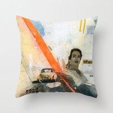 VACANCY zine Throw Pillow