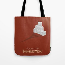 Never Forget to Play - Blocks Tote Bag
