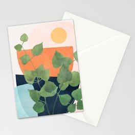 Nature Geometry IX Stationery Cards