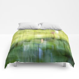 Tropical Impressionism - Lily Pond Comforters