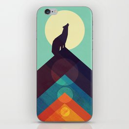 Howling Wild Wolf iPhone Skin