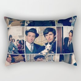 A very English Scandal Rectangular Pillow