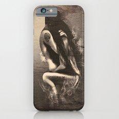 I Miss Us  (wood texture) Slim Case iPhone 6s