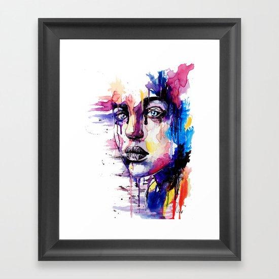 Colored soul Framed Art Print