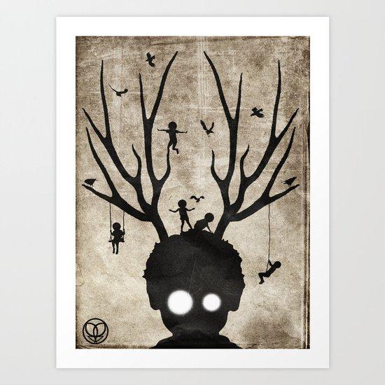 dear imaginary friends Art Print