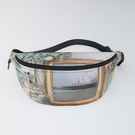 Santa Monica Pier French Decor Fanny Pack