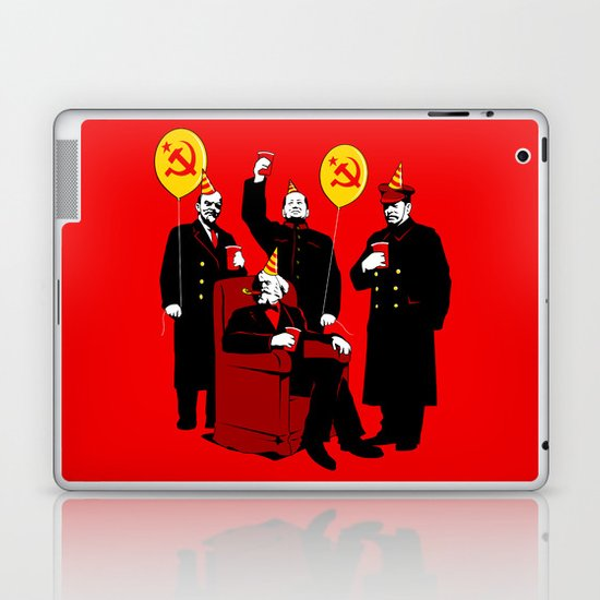 Communist Party II: The Communing Laptop & iPad Skin