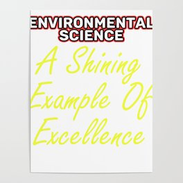 Empowerment Excellence Tshirt Design Tested for excellence Poster