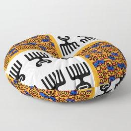 African Print Floor Pillow
