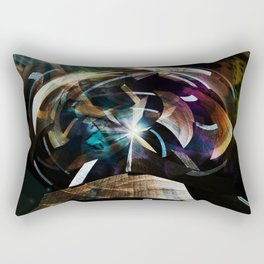 """Time Machine"" Rectangular Pillow"