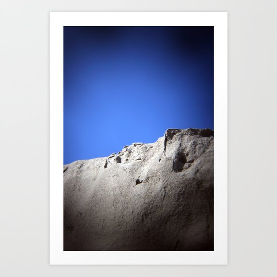 wall of sand Art Print