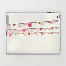 prayer flags no. 2 Laptop & iPad Skin