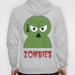 100 Zombies logo Hoody