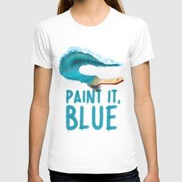 Paint It, Blue T-shirt